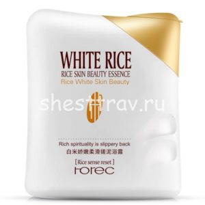 гель скатка для тела Rorec White Rice
