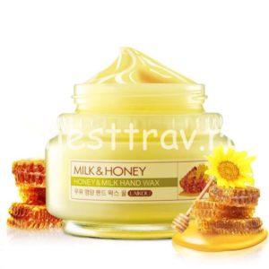 Laikou Honey & Milk Wax