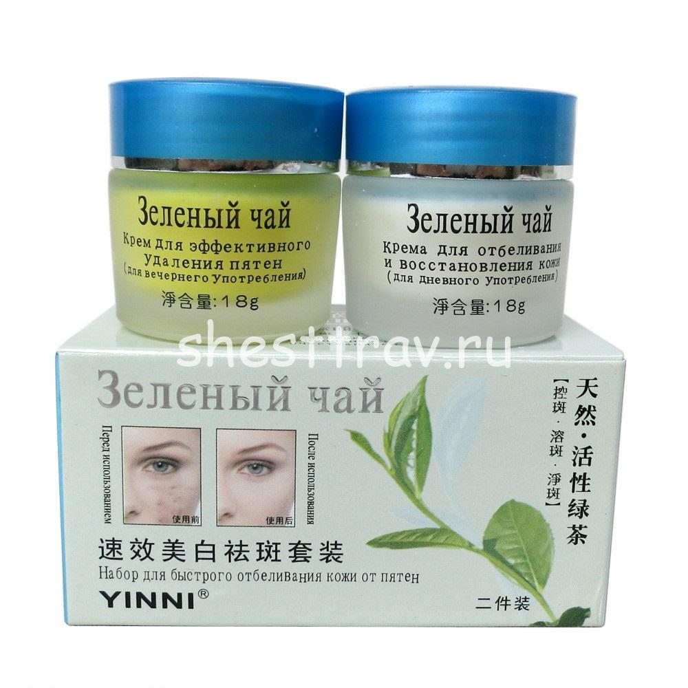 зеленый чай действие на кожу
