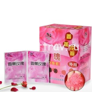 Ванночка желе для ног с розой китай