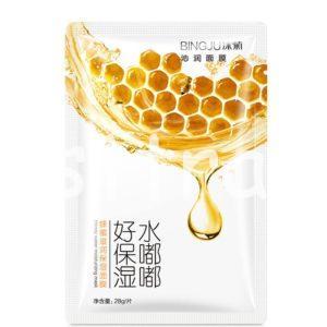 BINGJU Honey Water Moisturizing Mask тканевая маска с медом